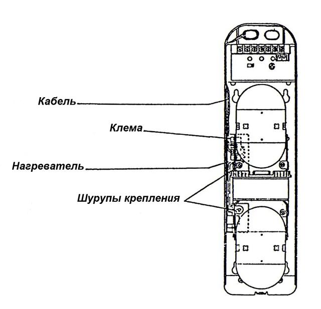 Нагреватель Selco SQH-24 для извещателей серии SBQ