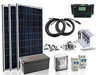 Комплект солнечной электростанции для дачи max