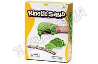 Цветной кинетический песок  2,3 кг зеленый (фирменная упаковка)