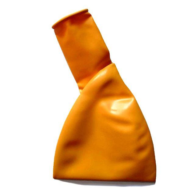 """Большие воздушные шары пастель оранжевый 36"""" (90 см) B350"""
