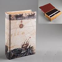 Книга шкатулка Буря в море,магазин подарков