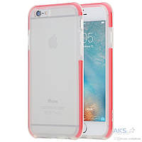 Чехол Rock Guard Series Apple iPhone 6 Plus, Apple iPhone 6S Plus Transparent Red