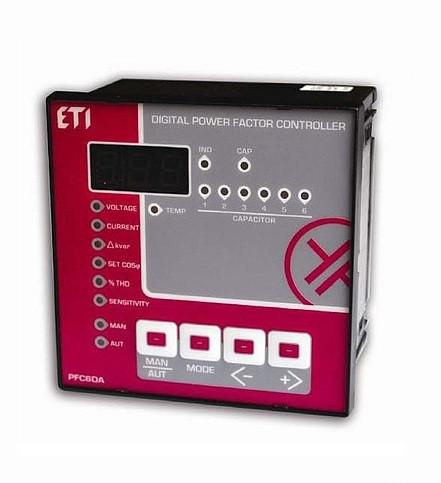 ETI PFC-6DA - регулятор реактивной мощности, 6 ступеней, 96x96, (400V)