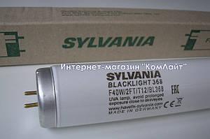 Лампа ультрафиолетовая Sylvania F40W/2Ft/BL368 T12 600mm (Германия)