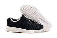 Кроссовки женские Adidas Yeezy Boost 350 Low Black White , фото 1