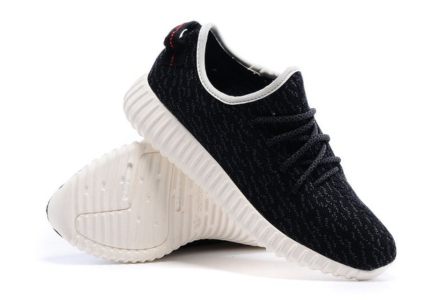 Кроссовки женские Adidas Yeezy Boost 350 Low Black White Оригинал