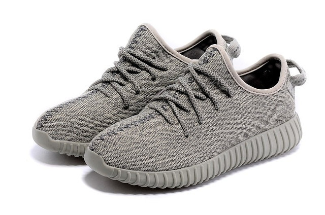 Кроссовки женские беговые Adidas Yeezy Boost 350 Low Moon Grey Оригинал