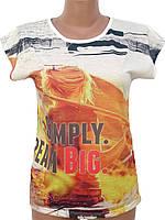 Яркая женская футболка (42)