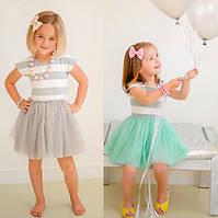 Детское легкое летнее платье