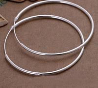 Серьги Кольца Серебро
