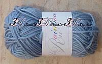 Пряжа для вязания акриловая цвет серый 25 грамм