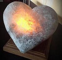 Артемсоль, Украина Солевой светильник Сердце 3 кг (160*160*150)