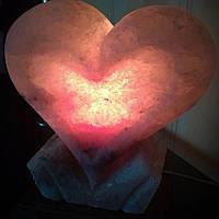 Артемсоль Солевая лампа Сердце на подставке 4 кг (190*130*230)