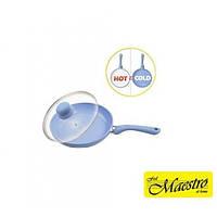 Сковорода (индукционное дно) Maestro MR-1224-24 см. индикатор нагрева
