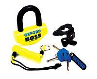 Замок противоугонный Oxford Boss Lock Yellow