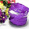 Ажурная лента, 2 см, фиолетовая