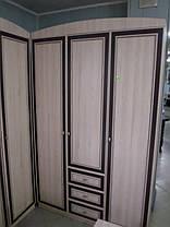 Шкаф угловой Дисней 2Д 2180х910х377мм дуб светлый   Мебель-Сервис, фото 3