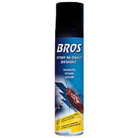 Bros Аэрозоль от нелетающих насекомых и тараканов, 400 мл