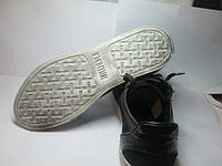 Кожанные мужские туфли на шнурках