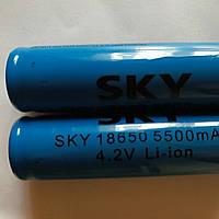 Батарейка Аккумулятор 18650 Blue