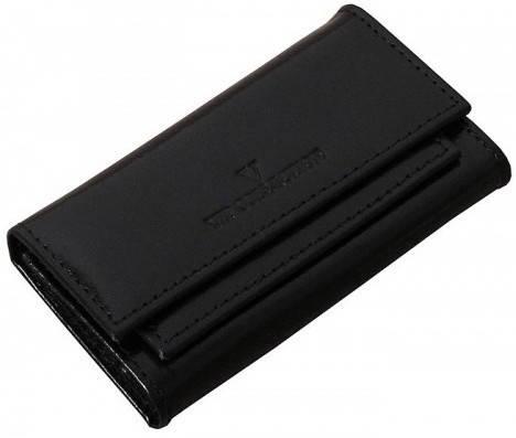 Практичный футляр для ключей Vip Collection 80A NY черный