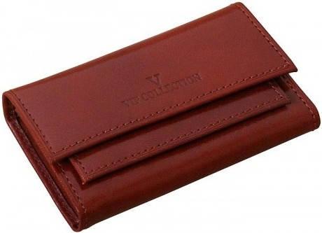 Престижный футляр для ключей Vip Collection 80C NY коньячный