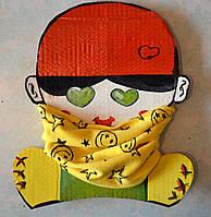 Хомут-шарф унисекс