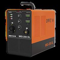 Сварочный инвертор полуавтоматический DWT MIG-200 DL