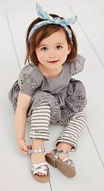 Летняя детская обувь для девочек