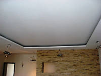 Монтаж короба из гипсокартона для натяжного потолка