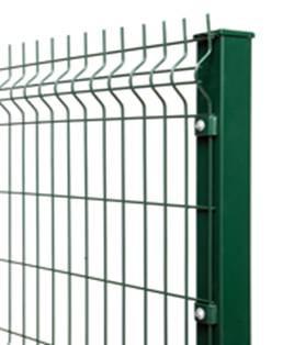 Cтолбы 80х60мм для панельных сеток, H=250см