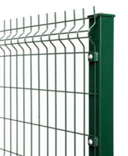 Cтолбы 80х60мм для панельных сеток, H=400см
