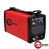Инвертор cварочный Intertool DT-4220