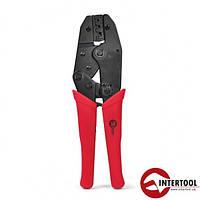 Клещи для обжима контактов Intertool HT-7050
