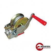 Лебедка рычажная барабанная Intertool GT1454