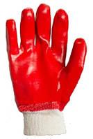 Перчатки трикотажные с ПВХ-покрытием