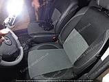 Чехлы на сиденья Рено Дастер (чехлы из экокожи Renault Duster стиль Premium), фото 3