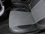 Чехлы на сиденья Рено Дастер (чехлы из экокожи Renault Duster стиль Premium), фото 4