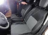Чехлы на сиденья Рено Дастер (чехлы из экокожи Renault Duster стиль Premium), фото 5