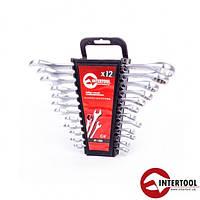 Набор ключей комбинированных Intertool HT-1203