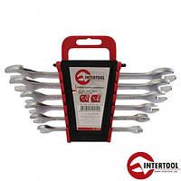Набор ключей рожковых Intertool HT-1002