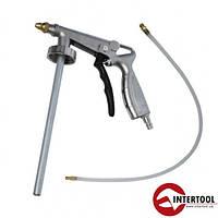 Пистолет под гравитекс пневматический Intertool PT-0703