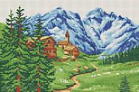 Горный пейзаж КМР 3239