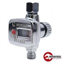 Регулятор давления воздуха для пистолетов покрасочных Intertool PT-1424