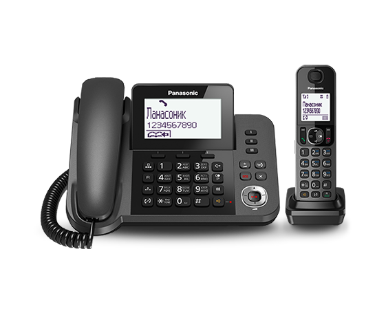 Радиотелефон Panasonic KX-TGF320UCM радиотелефон DECT, фото 2