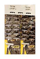 Одноразовые 1 лезвийные бритвенные станки BIC-1 Metal (планшет) -36 шт.