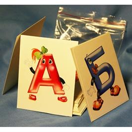 Алфавит, счетные палочки