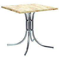 Металлическая база для столов Соня Нью хром ножки регулируемые