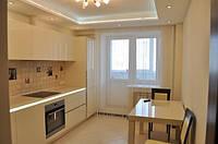 Установка подвесных потолков из гипсокартона на кухне