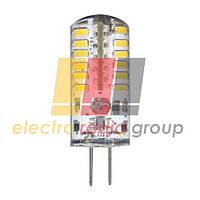 LB-422  AC/DC12V 3W 48leds G4 4000K 240lm Светодиодная лампа